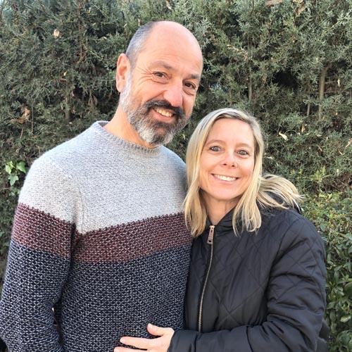 Daniel Demai y Vanina Ferri
