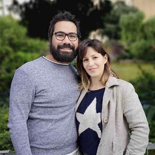 Ingrid Soler e Isaac Valdés