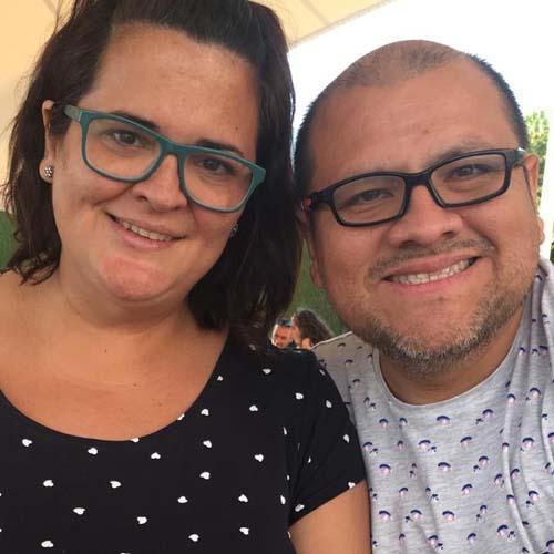 Patry Méndez y Omar Ramírez