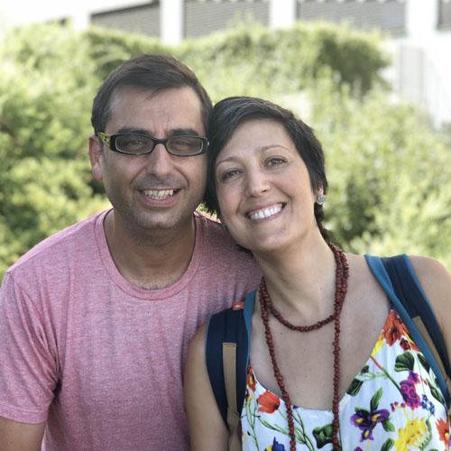 Enric Andreu y Sara Rami