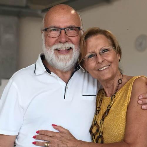 Victor Miron y Cesca Planaguma