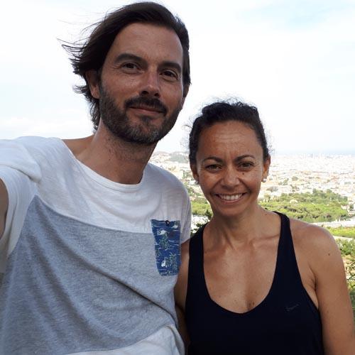 Eva Aldea y Marc Fuentes