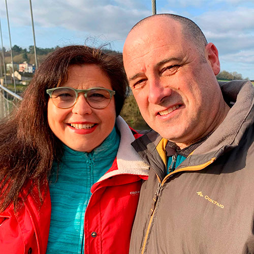 Victor José Ansedes y Rosi Sánchez